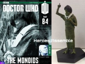 Doctor Who Figurine Collection #084 Monoid Eaglemoss